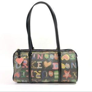 Like new Dooney & Bourke heart shoulder bag